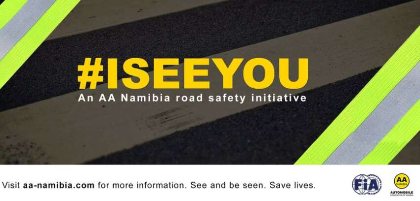 #ISEEYOU ROAD SAFETY CAMPAIGN